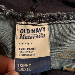 Old Navy Jeans - Old Navy Maternity straight leg full panel jeans